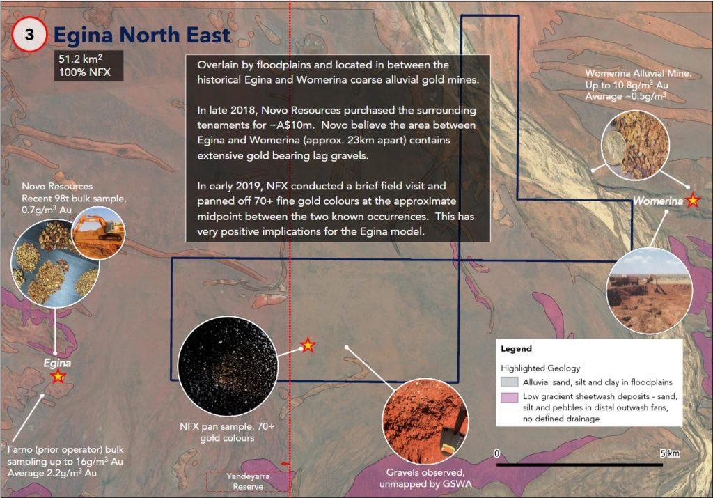 New Frontier Exploration - Egina East Prospect